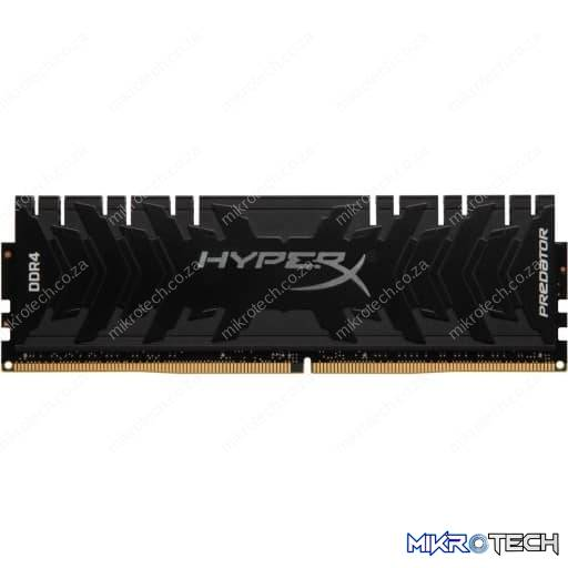 Kingston HX426C13PB3/8 HyperX Predator 8GB (1x8GB) DDR4-2666MHz CL13 1.35V Black Desktop Memory