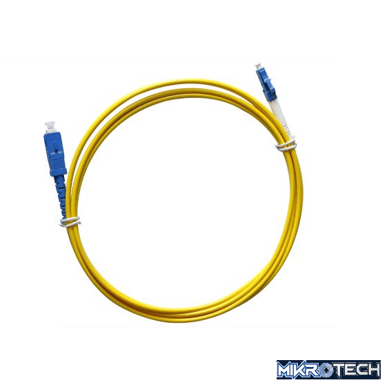 LC-SC-SM 1MTR SM FIBRE CABLE