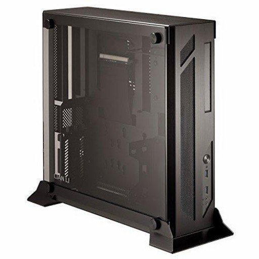 Lian-Li PC-O5X Full-Sized Tempered Glass Side Panel Mini-ITX Chassis