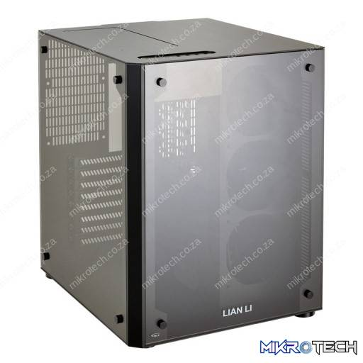 Lian-Li PC-O8WGD Gold + Black With Full-Sized Tempered Glass Side Panel RGB Colour Changing E-ATX Chassis