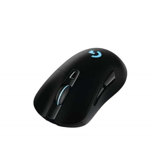Logitech G703 Lightspeed 12000 DPI Black Wireless Optical Gaming Mouse