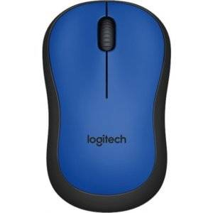 Logitech 910-004879 M220 Silent Blue Wireless Optical Mouse