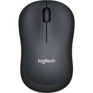 Logitech 910-004878 M220 Silent Charcoal Wireless Optical Mouse