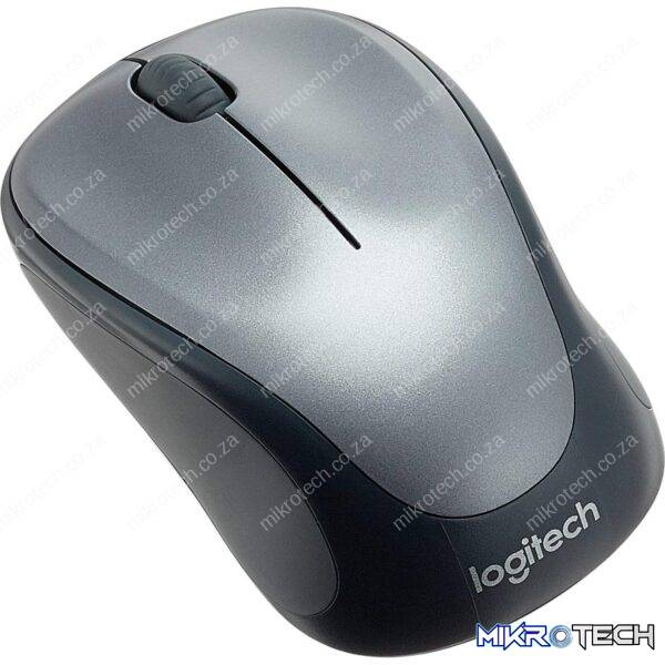 Logitech M235 Black-Silver 1000DPI Wireless Notebook Mouse