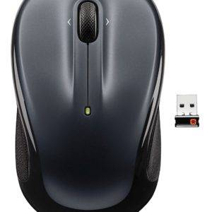 Logitech M325 Black Dark-Silver USB Cordless Mouse
