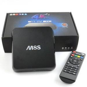 M8S ANDROID BOX