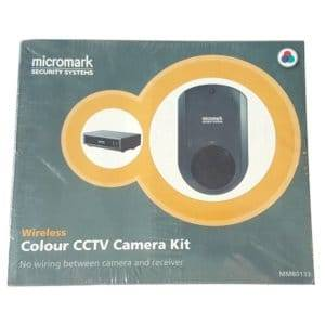 MICROMARK W/LESS COLOUR CAMERA & RECEIVE
