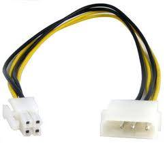 MOLEX 4 PIN TO CONVERTER CABLR FOR POWER