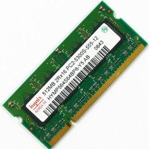 NOTEBOOK 512MB DDR2 667MHZ  MEM HYNIX