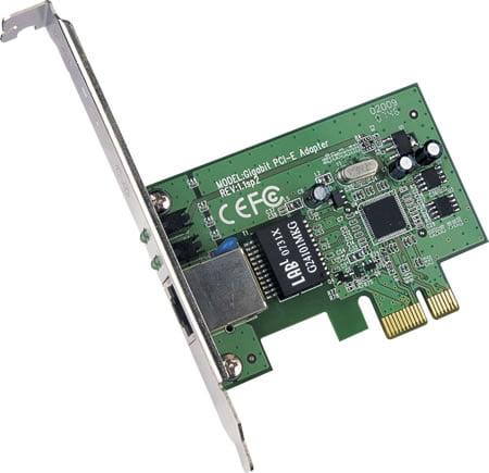PCI-E : 10/100 LAN CARD