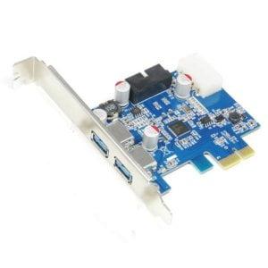 PCI-E 2 USB3 PORT WITH INTERNAL HEADER