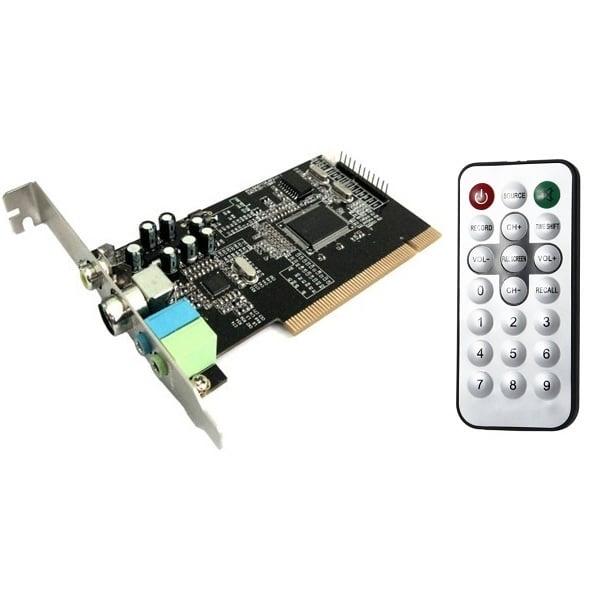 PCI TV TUNER - WITH FM  + REMOTE