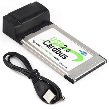 PCMCIA: 4 PORT USB CARD