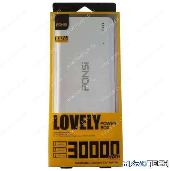 POWERBANK 30000MAH 2X USB