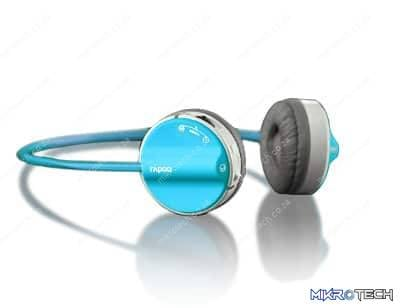 RAPOO WIRELESS HEADEST H3050 BLUE 2.4GH