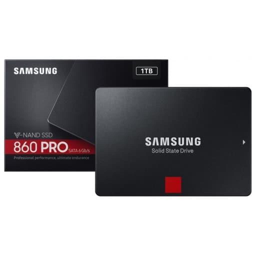 """Samsung MZ-76P1T0BW 860 PRO 1TB SATA 6Gb/s 2.5"""" Solid State Drive"""