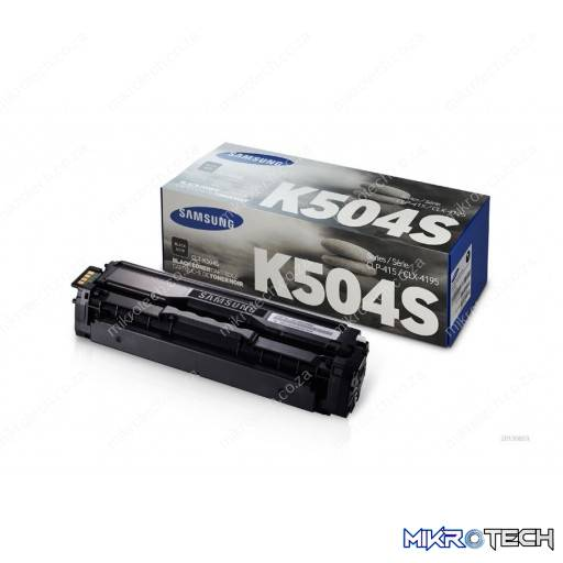 Samsung CLT-K504S Standard Yield Black Toner Cartridge
