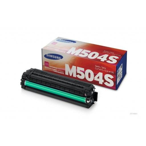 Samsung CLT-M504S Standard Yield Magenta Toner Cartridge