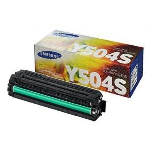 Samsung CLT-Y504S Standard Yield Yellow Toner Cartridge