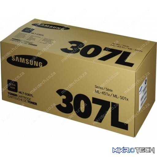 Samsung MLT-D307L High Yield Black Laser Toner Cartridge