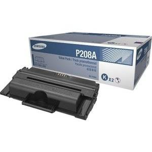 Samsung MLT-P208A 2-Pack Black Laser Toner Cartridge