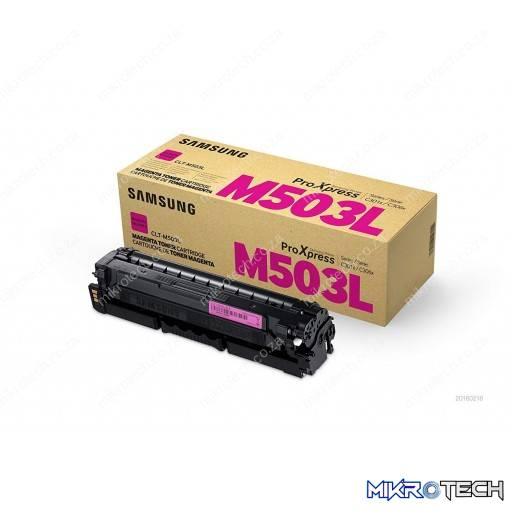 Samsung S-Print CLT-M503L Magenta High-Yield Toner Cartridge