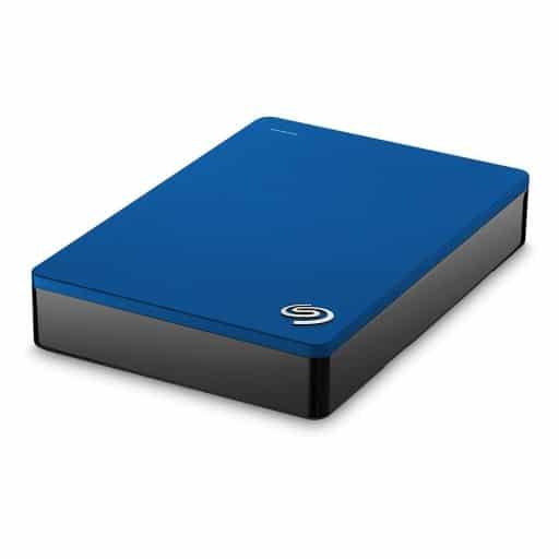"Seagate Backup Plus Portable 4TB Blue 2.5"" USB 3.0 External Hard Drive"