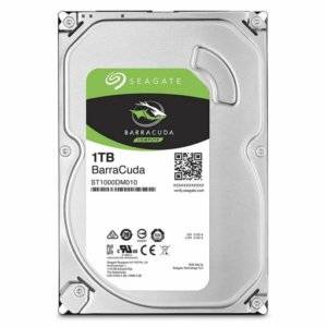 "Seagate ST1000DM010 Barracuda 1TB 7200RPM SATA 6Gb/s 64MB Cache 3.5"" Internal Hard Drive"