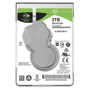"Seagate ST2000LM015 Barracuda 2TB 5400RPM SATA 6Gb/s 128MB Cache 2.5"" Internal Hard Drive"