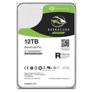 "Seagate ST12000DM0007 Barracuda Pro 12TB 7200RPM SATA 6Gb/s 256MB Cache 3.5"" Internal Hard Drive"