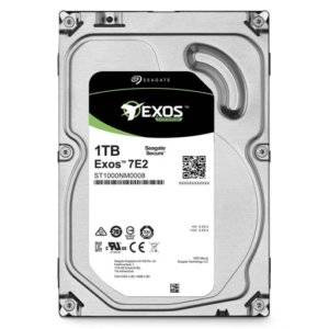 "Seagate ST1000NM0008 Exos 7E2 1TB 7200RPM 128MB Cache 512N SATA 3.5"" Internal Hard Drive"