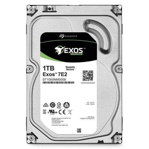 """Seagate ST1000NM0008 Exos 7E2 1TB 7200RPM 128MB Cache 512N SATA 3.5"""" Internal Hard Drive"""