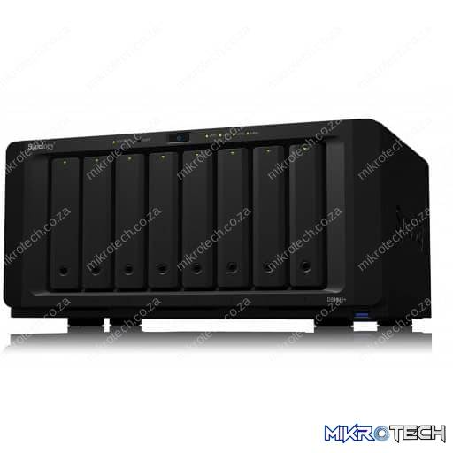 Synology SYN-DS1819+ 8-Bay SATA3 6Gbps 2.1GHz Quad Core 4GB DDR4 2133MHz NAS Enclosure