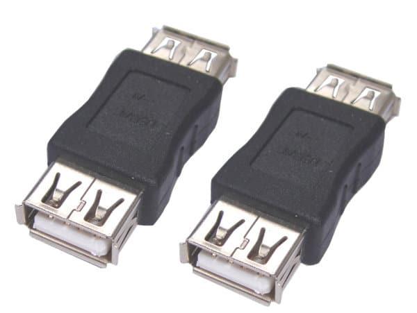 USB FEMALE TO USB FEMALE ADAPTER