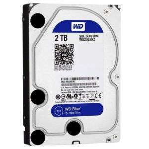 "WD BLUE 2.0TB 3.5"" 5400RPM 64MB HDD"