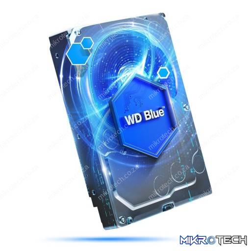 Western-Digital WD60EZRZ Blue 6TB 5400rpm SATA 6Gb/s 64MB Cache 3.5'' Internal Hard Drive