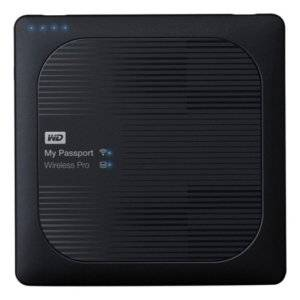"Western Digital WDBVPL0010BBK-EESN My Passport Wireless Pro 1TB 2.5"" USB 3.0 Wi-Fi 802.11ac Portable External Hard Drive"