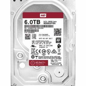 WD Red Pro 6TB 3.5 SATA 256MB