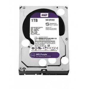 "Western Digital WD10PURZ Purple Surveillance 1TB 5400RPM SATA 6Gb/s 64MB Cache 3.5"" Internal Hard Drive"