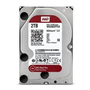 WD Red Pro 2TB 3.5 SATA 64MB