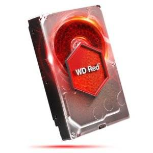 "Western Digital WD10EFRX WD Red NAS Storage 1TB 5400RPM SATA 6Gb/s 64MB Cache 3.5"" Internal Hard Drive"