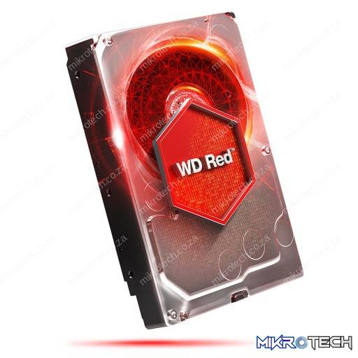 "Western Digital WD30EFRX WD Red NAS Storage 3TB 5400RPM SATA 6Gb/s 64MB Cache 3.5"" Internal Hard Drive"