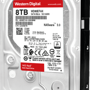 WD Red 8TB 3.5 SATA 256MB