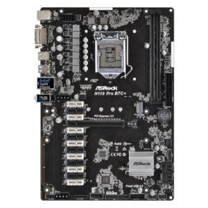 ASRock H110 Pro BTC+ LGA1151 H110 Chipset ATX Skylake Desktop Motherboard - OEM Packaging