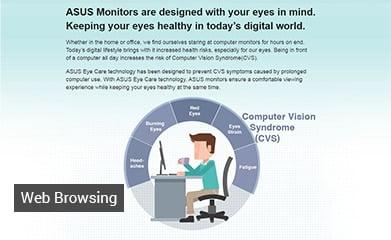 "Asus VZ279HE Eye Care 27"" Full HD (1920x1080) IPS 5ms Ultra-slim Desktop Monitor"