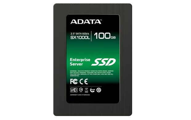 """Adata SX1000L Server SSD 100GB SATA 6Gb/s MLC 2.5"""" Solid State Drive"""