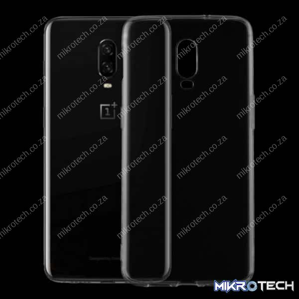 0.75mm Transparent TPU Case for OnePlus 6T