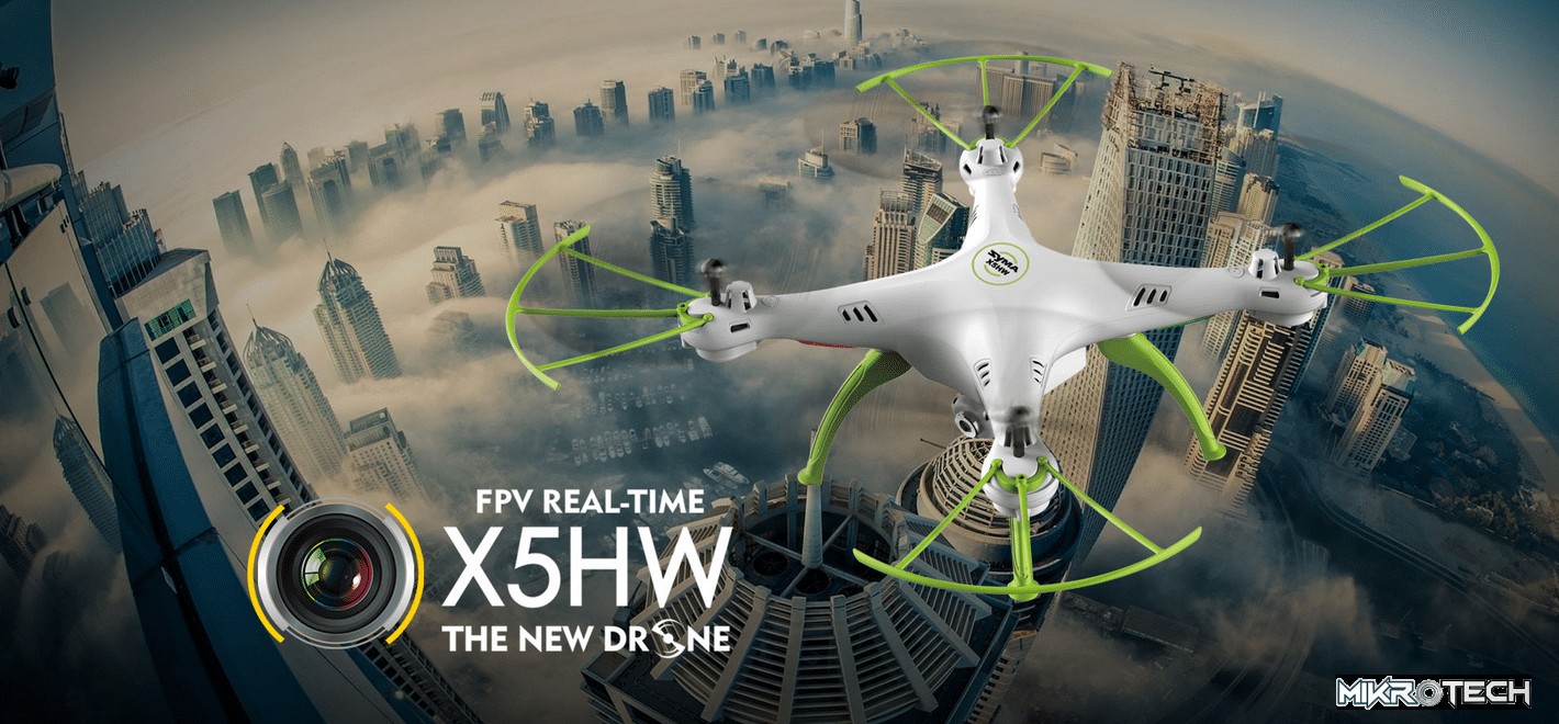 Syma X5HW 2.4G 4CH 6Axis FPV Real Time With 2MP Camera  RC Quadcopter