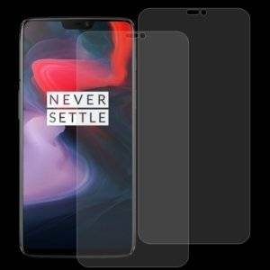 2 PCS 0.26mm 9H 2.5D Tempered Glass Film for OnePlus 6