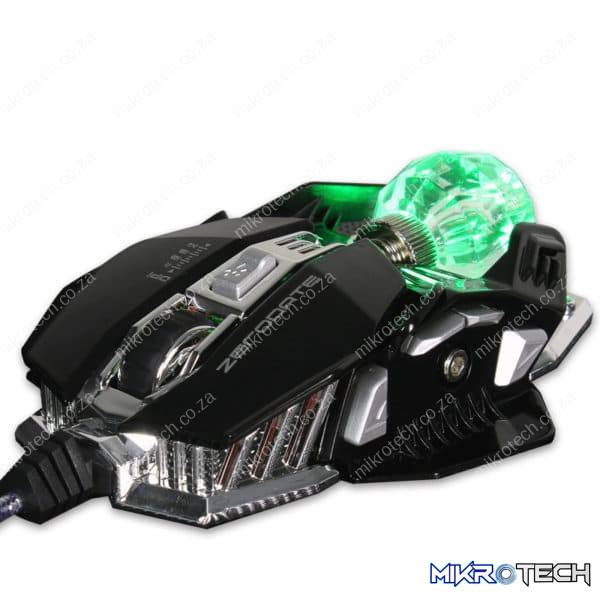 ZeroDate X600 USB Wired LED Optical Gaming Mouse (2500DPI)